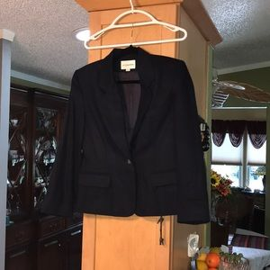 Very nice with tags wool blazer navy blue